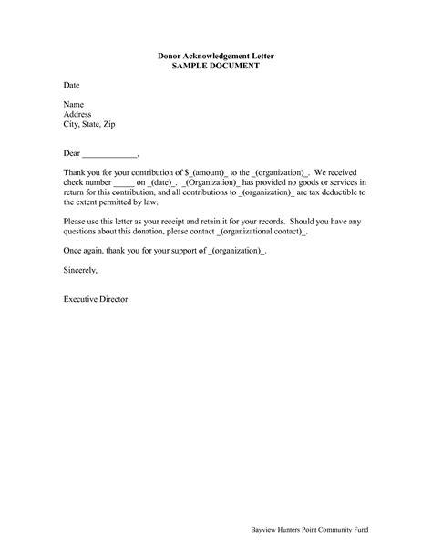 donation receipt letter  calendar template site pta