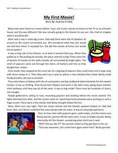 free third grade reading comprehension reading comprehension worksheet my
