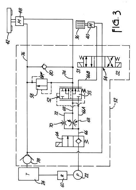 patent  feed control hydraulic circuit  wood