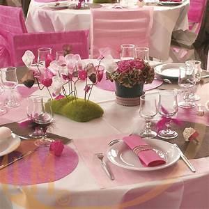 Achat Deco Mariage : 50 set de table rond tissu non tiss achat set de table ~ Teatrodelosmanantiales.com Idées de Décoration