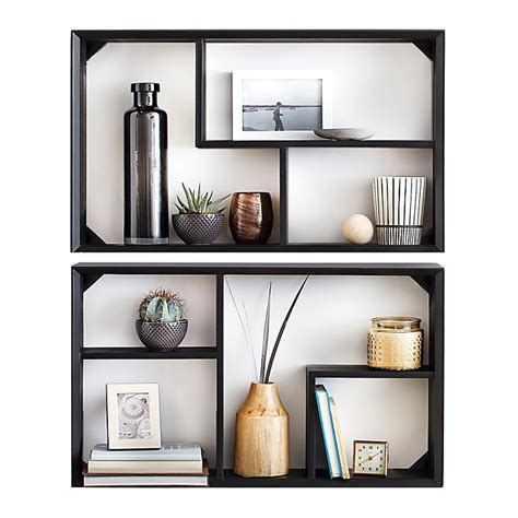 Install modern & space saving wall shelves to reduce bulk. Real Simple® Wall Unit (Set of 2) | Bed Bath and Beyond Canada