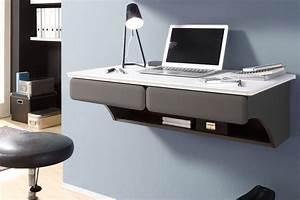 Design Schreibtisch Weiß : individueller design schreibtisch h ngend legless 90cm wei lava laptop tisch riess ~ Heinz-duthel.com Haus und Dekorationen