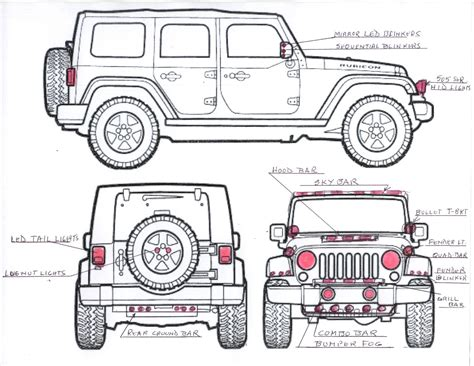 jeep front drawing index of images pageheaders