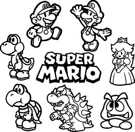 Mario Kleurplaten Printen by 25 Printen Mario Bros Kleurplaat Mandala Kleurplaat Voor