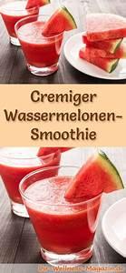 Gesunde Smoothies Zum Abnehmen : wassermelonen smoothie gesundes rezept zum abnehmen smoothies ~ Frokenaadalensverden.com Haus und Dekorationen