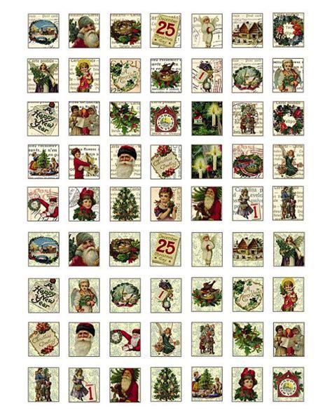 christmas scrabble tile images digital collage sheet xmas