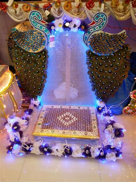 mahalaxmi decoration haldi kunku pinterest