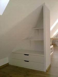 Ikea Regal Schräg : m bel f r dachschr ge einbauschrank selber bauen idea pinterest dachschr ge schr g und ~ Markanthonyermac.com Haus und Dekorationen