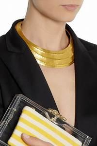 Hervé Van Der Straeten : herv van der straeten textured gold plated necklace ~ Melissatoandfro.com Idées de Décoration