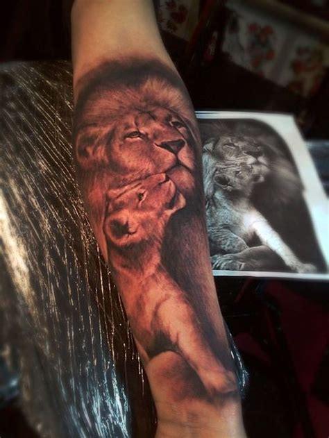 amazing lion  cub tattoo ideas  lion tattoo