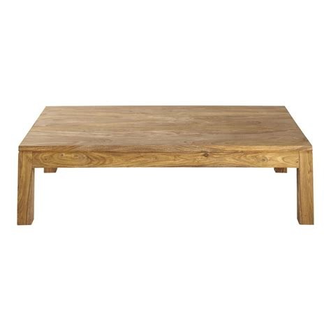 Table Basse En Bois De Sheesham Massif L 140 Cm Stockholm