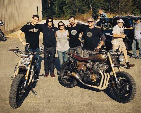 Daryl Dixon And His Zombie Apocalypse Custom Bike