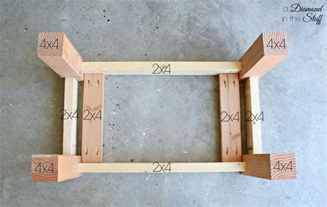 Well you're in luck, because here they come. DIY Outdoor Coffee Table - A Diamond in the Stuff