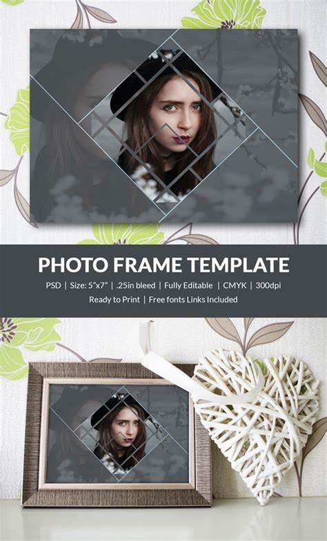 Picture styles are designed to frame your image without changing its basic. Photo Frame Template - 32+ Free Printable, JPG, PSD, ESI, Indesign Format Download | Free ...