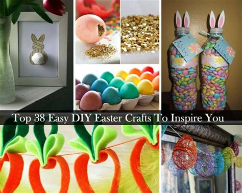 38 Easy Diy Easter Crafts And Decorations