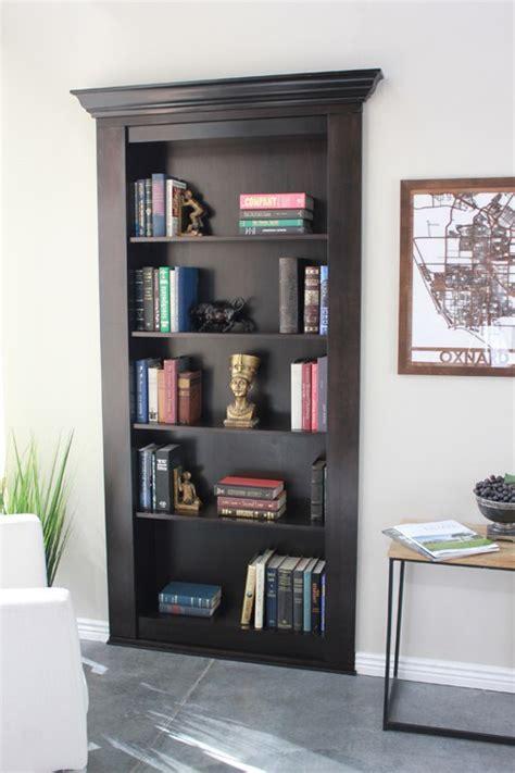 How To Build A Secret Bookcase Door - secret bookcase door secure order today