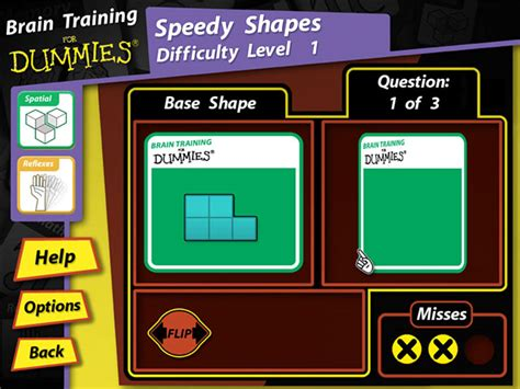 Brain Training For Dummies> Ipad, Iphone, Android, Mac
