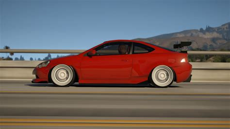 acura rsx widebody add replace gta5 mods com
