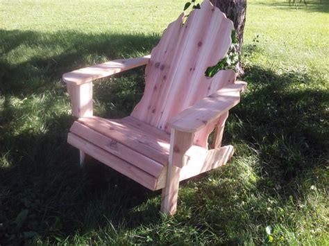 kit michigan adirondack chair kit handmade wood