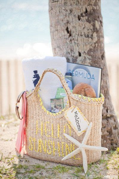 Welcome Bag Ideas The Big Day Destination Wedding