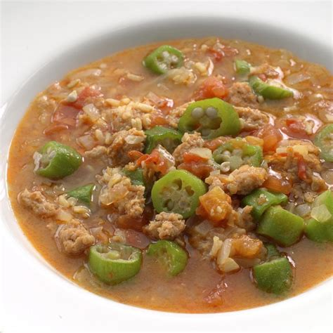 gumbo recipes sausage gumbo recipe eatingwell