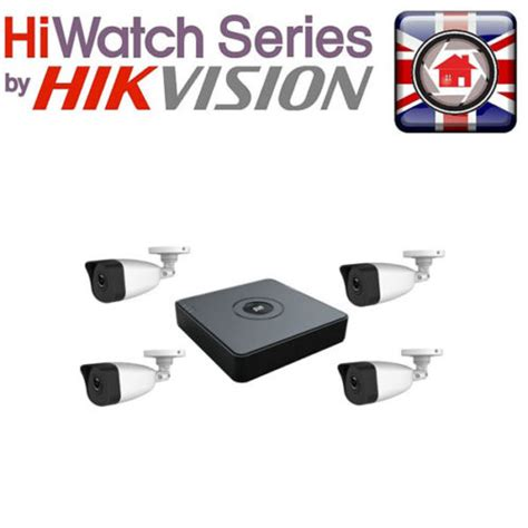 hiwatch hikvision cctv system t104q a 1t