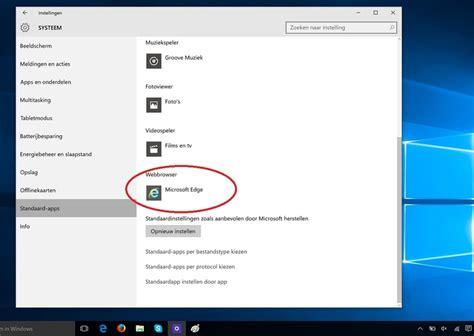 Hoe Maak Je Google De Standaard-zoekmachine In Windows 10