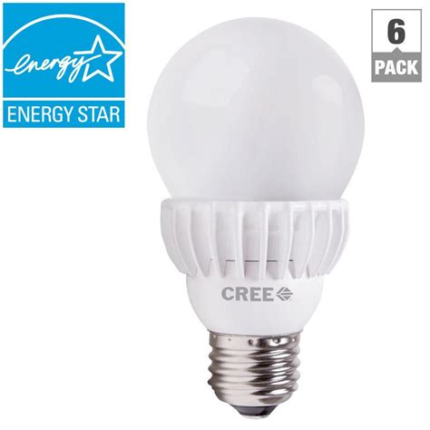 cree 75w equivalent daylight 5000k a19 dimmable led