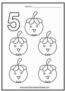 Get This Number 5 Coloring Page - 562s5