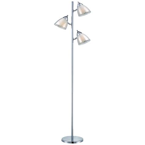 floor ls on sale free shipping lite source selika chrome floor l with conical shade