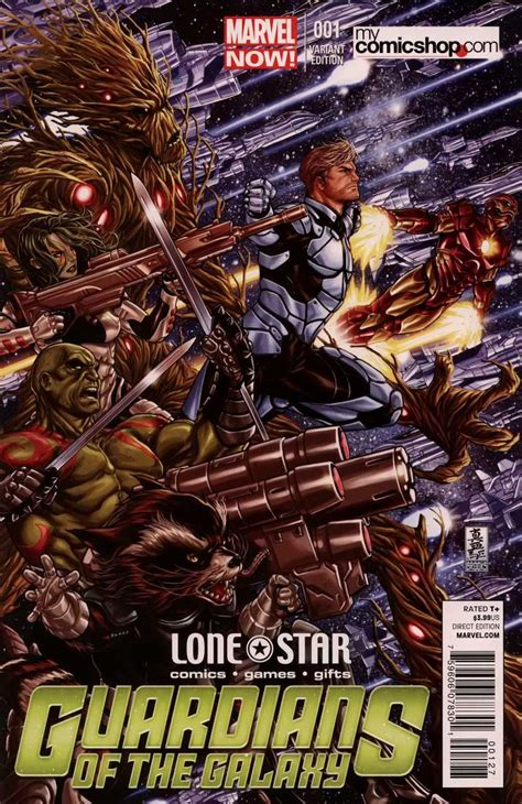 guardians of the galaxy 1 issue comic book