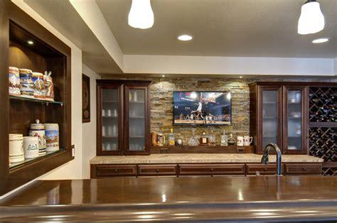 Basement Bar Backsplash by Basement Bar Backsplash Tv Traditional Basement