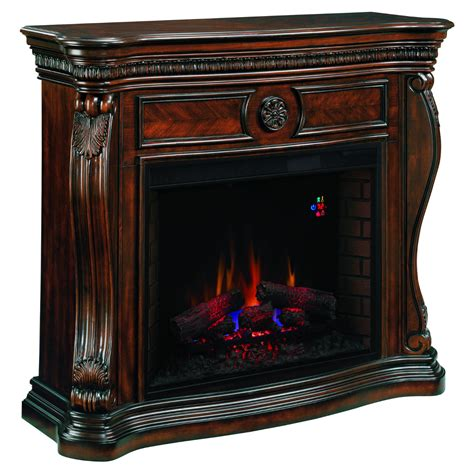 classic flame lexington wm  wall mantel electric