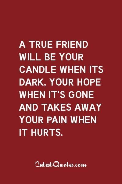 True Friend Quotes 17 Best Real Friendship Quotes On True