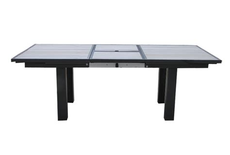 table de salon de jardin avec rallonge qaland com