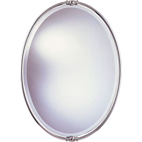 new polished nickel mirror feiss oval mirrors home