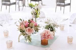 Centre De Table Champetre : bouquet champetre centre de table ~ Melissatoandfro.com Idées de Décoration