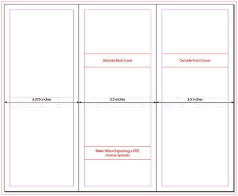 4 Panel Brochure Template Indesign Brochure Template Media 4 Panel Brochure Template Indesign Premium Member Benefit