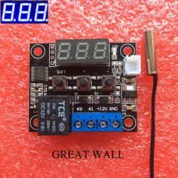 Aliexpress.com : Buy W1209 Blue LED DC 12V heat cool temp ...