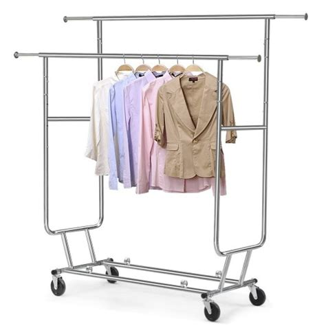 folding clothes rack folding rolling rack product reviews only hangers