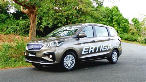 Suzuki Ertiga 2019 by 2019 Suzuki Ertiga Glx At Review Specs Features