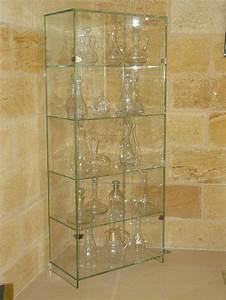 Vitrine En Verre Pour Collection : vitrine pour objets de d coration ~ Teatrodelosmanantiales.com Idées de Décoration