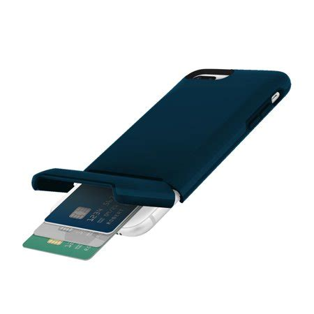 It also can hold your cash. Incipio Stashback iPhone 8 Plus Case with Credit Card Slot ...