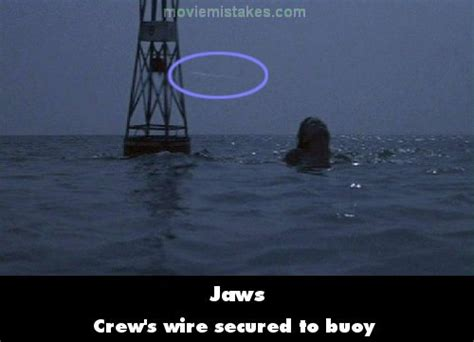 Jaws (1975) Movie Mistake Picture (id 89968