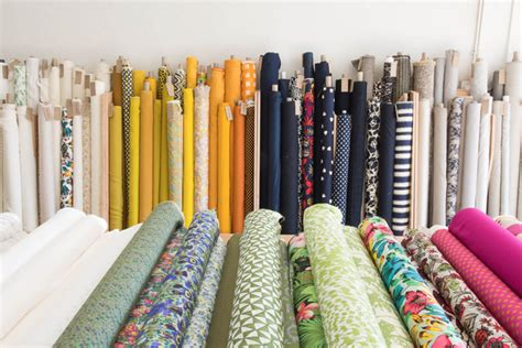 the upholstery shop guide to la fabric stores cotton flax