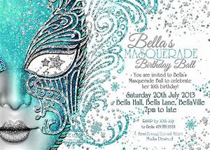 Masquerade invitation mardi gras party party by bellaluella 1000 party party party lets all for Masquerade birthday invitations