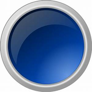 15 Blue 3D Button Icon.png Images - Blue Rectangle Clip ...