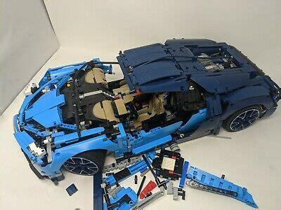 The lego bugatti chiron (42083) is technic recreation of the bugatti chiron supercar. LEGO Technic Bugatti Chiron Blue Race Car Set 42083 ...