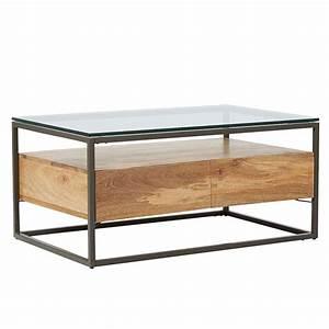 west elm industrial storage box frame coffee table at john With box frame storage coffee table