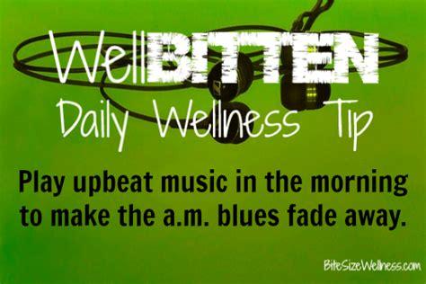 wellbitten wellness tip play    morning dash